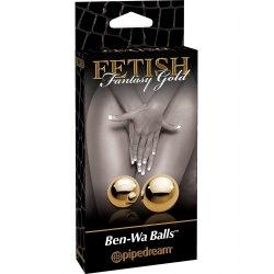 Palline Vaginali Dorate Senza Filo Pipedream Ben-Wa Balls Fantasy Gold