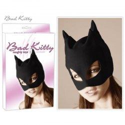 Maschera Cappuccio Bondage con Apertura alla Bocca - Bad Kitty