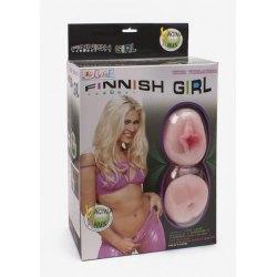 Bambola Gonfiabile Finnish Girl con Masturbatore in Loveclone, Vibrazione e Voce