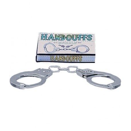 Manette in Metallo con Chiavi Metal Handcuffs