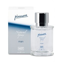 Feromoni per Uomo Senza Profumo HOT Pheromone Natural Spray Man 50 ml Inodore