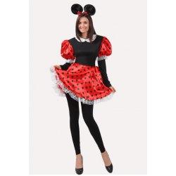 M Costume Donna Topoletta Sexy Vestito Carnevale - Pegasus