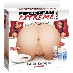 Pipedream Extreme BAD GIRL VIBRATING ASS Masturbatore Realistico Ano e Vagina Vibrante