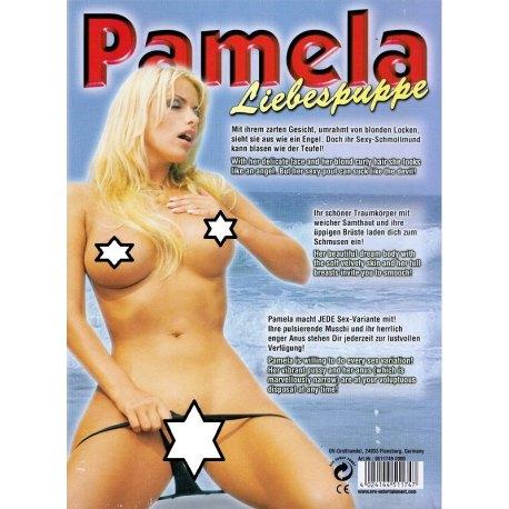 Bambola Gonfiabile Pamela con Capelli e Viso Rifinito