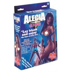Bambola Gonfiabile di Colore Alecia King Nera, Addio al Celibato