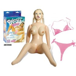 Bambola Gonfiabile Bridget Big Boobs Love Doll Tette Grandi, Viso 3D Realistico