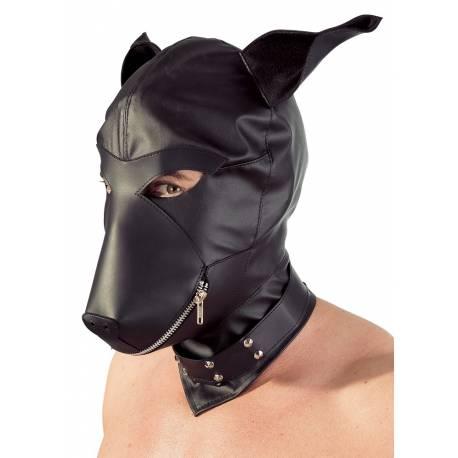 Maschera Testa di Cane Bondage Sadomaso Fetish BDSM