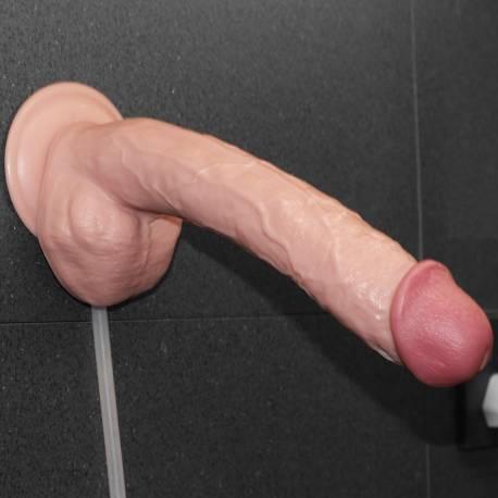 """11"""" Fallo Squirt Realistico Eiaculante Gigante Dildo Squirting Eiacula Sperma"""