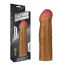 Prolunga per Pene 5cm Guaina Fallica Mulatta Estensore Indossabile Silicone Soft