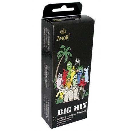 Preservativi Amor Big Mix Condom 30 Profilattici Assortiti